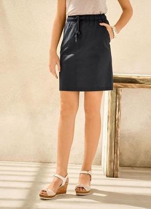 Льняная юбка м 38 euro esmara германия