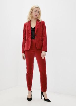 Бархатные велюровые брюки, штаны marks & spencer 1+1=3