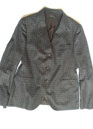 Стильный аристократичный жакет пиджак блейзер tagliatore италия