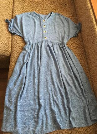 Лёгкое вискозное платье