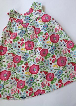 Симпатичное цветочное платье