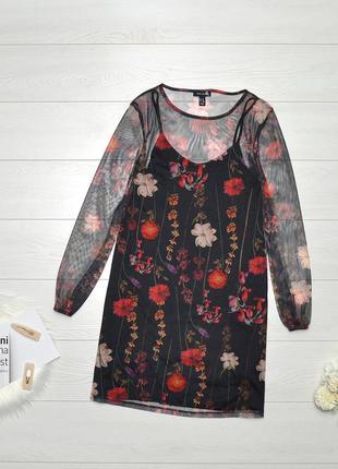 Красиве плаття в квітковий прінт new look.