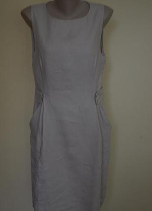 Классное платье модного фасона из хлопка laura clement