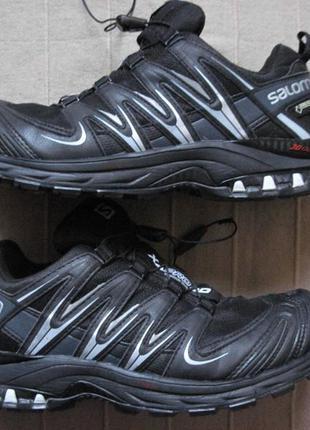 Salomon xa pro 3d gtx (38, 24,5 см) треккинговые мембранные кроссовки женские