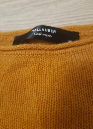 Невесомый кашемировый свитер hallhuber