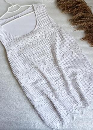✨базова ,натуральна  біла блуза , із сітчастим верхом , не просвічується✨