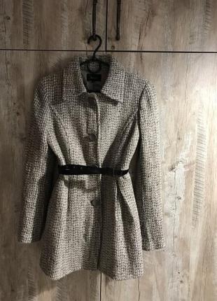 Пальто xs s made in italy  оригинал massimo dutti zara