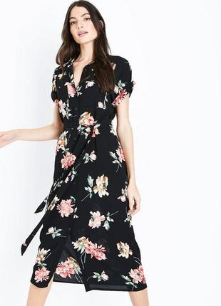 Легке квіткове плаття з пояском cameo rose , розмір м🔥