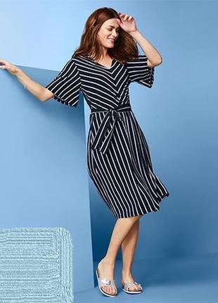 Стильное новое платье tcm tchibo германия, р-р s-m