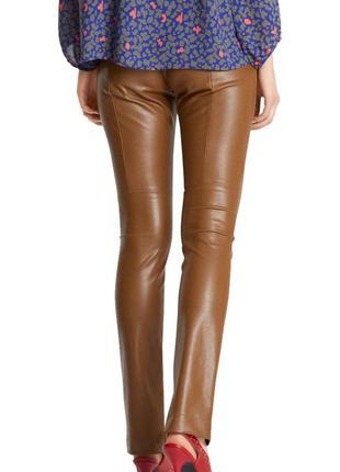 Новые брюки штаны лосины из эко кожи marc cain 1+1=3