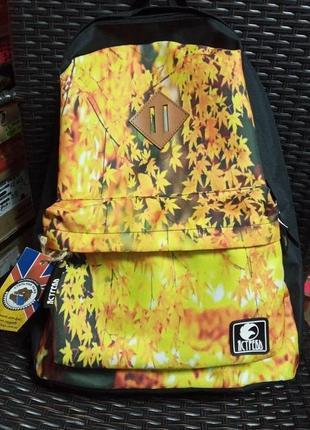 Ястребь рюкзак унісекс осіннє листя