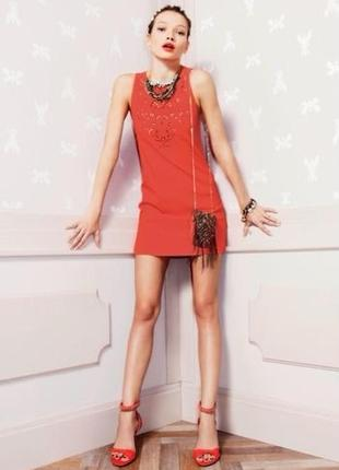 Красное платье patrizia pepe