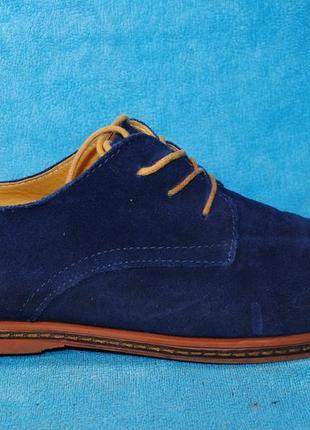 Замшавые туфли love sia 44 размер