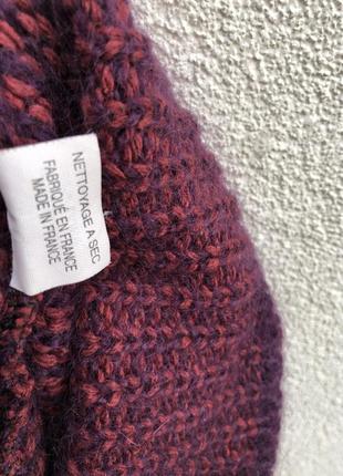 Шерсть,мохер,шелк свитер,кофта,джемпер,большой размер,maryse cepiere,франция2 фото