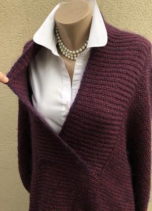 Шерсть,мохер,шелк свитер,кофта,джемпер,большой размер,maryse cepiere,франция7 фото