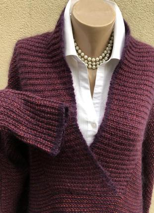 Шерсть,мохер,шелк свитер,кофта,джемпер,большой размер,maryse cepiere,франция5 фото