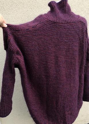 Шерсть,мохер,шелк свитер,кофта,джемпер,большой размер,maryse cepiere,франция10 фото