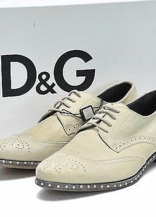 Мужские люкс туфли dolce gabbana d&g armani gucci оригинал дольче габбана