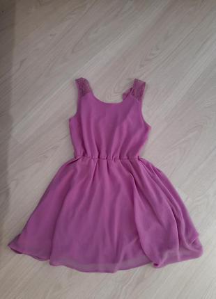 Шифоновое платье, сарафан
