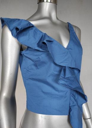 H&m укороченный топ, блуза, укороченная блузка