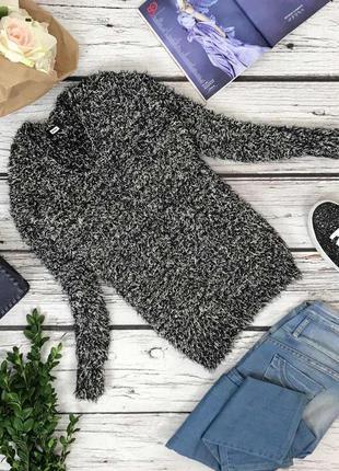 Стильный пуловер-оверсайз bik bok меланжевой расцветки  sh4326