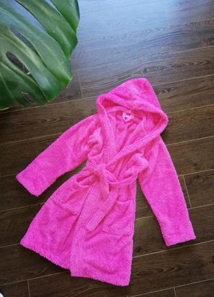 Розовый халат на девочку подростка