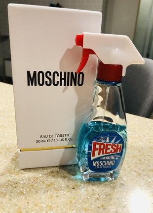 Moschino fresh couture туалетная вода