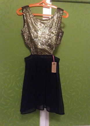 Новое оригинальное платье hearts & bows
