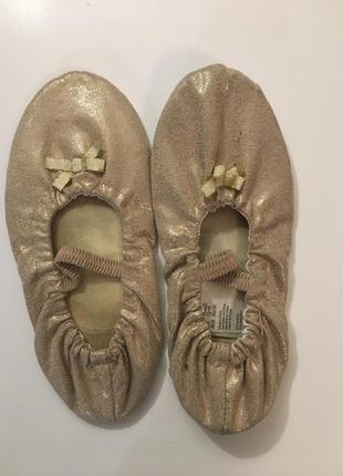 Танцевальные балетки на девочку h&m
