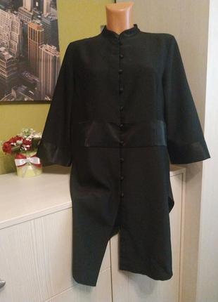 Стильное новое платье с разрезами premier на 46