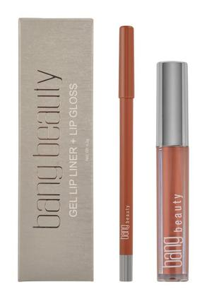 Bang beauty карандаш+ блеск для губ