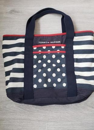 Шоппер, пляжная сумка tommy hilfiger