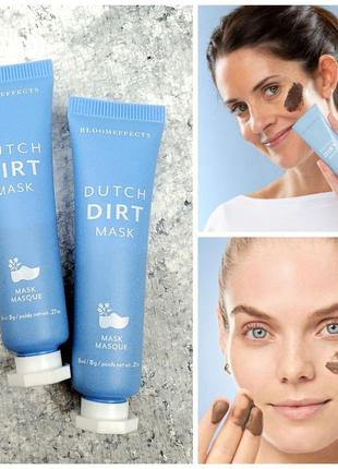 Очищающая скраб-маска для лица bloomeffects dutch dirt mask