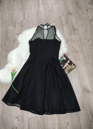 Новое женское вечернее платье с пышной юбкой миди