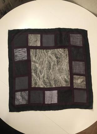 Высококачественный шелковый платок косынка 53*53