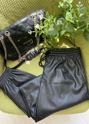 Кожаные штаны zara / 🔥скидка всего 900 грн срочно