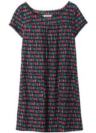 Яркое вельветовые платье sesalt cornwall