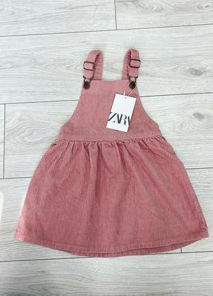 Сарафан zara платье