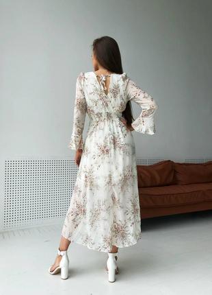 Шифоновое платье3 фото
