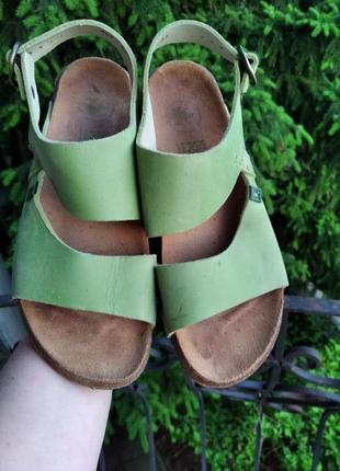 P.37 el naturalista (оригинал) кожаные босоножки, сандалии.