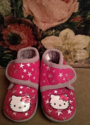 Топики, тапочки, флис ботиночки. miss katy 11.12.13.см.