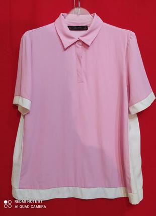 Футболка блуза рубашка поло zara.  h&m mango massimo dutti bershka