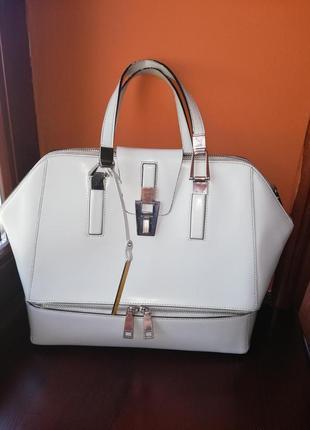 Классическая кожаная сумка cromia оригинал италия