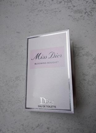 Пробник miss dior