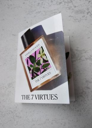 Пробник парфумів vanilla woods the 7 virtues