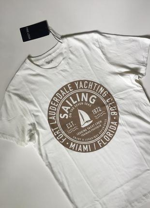 Мужская футболка, размер м. бренд fine look