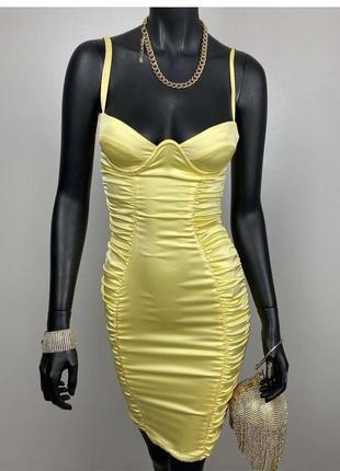 Платье сатиновое oh polly