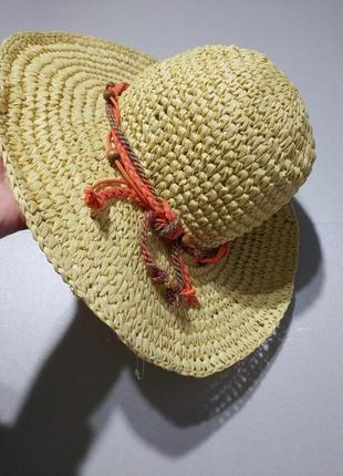 Соломенная шляпа шляпка немецкого бренда  c&a европа оригинал