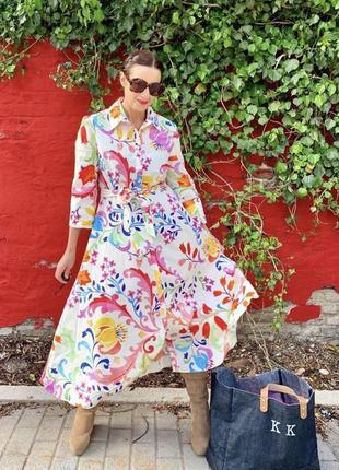 Платье миди zara mango