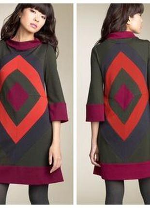 Шерстяное платье diane von furstenberg xs/s